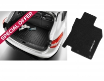 Protection Pack - Tailored Carpet Mats & Boot Liner