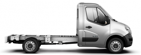 NV400 DRW Chassis Cab - L4 165hp 3.5T